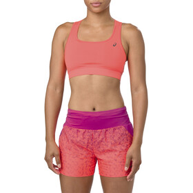 asics Bra Dames, flash coral